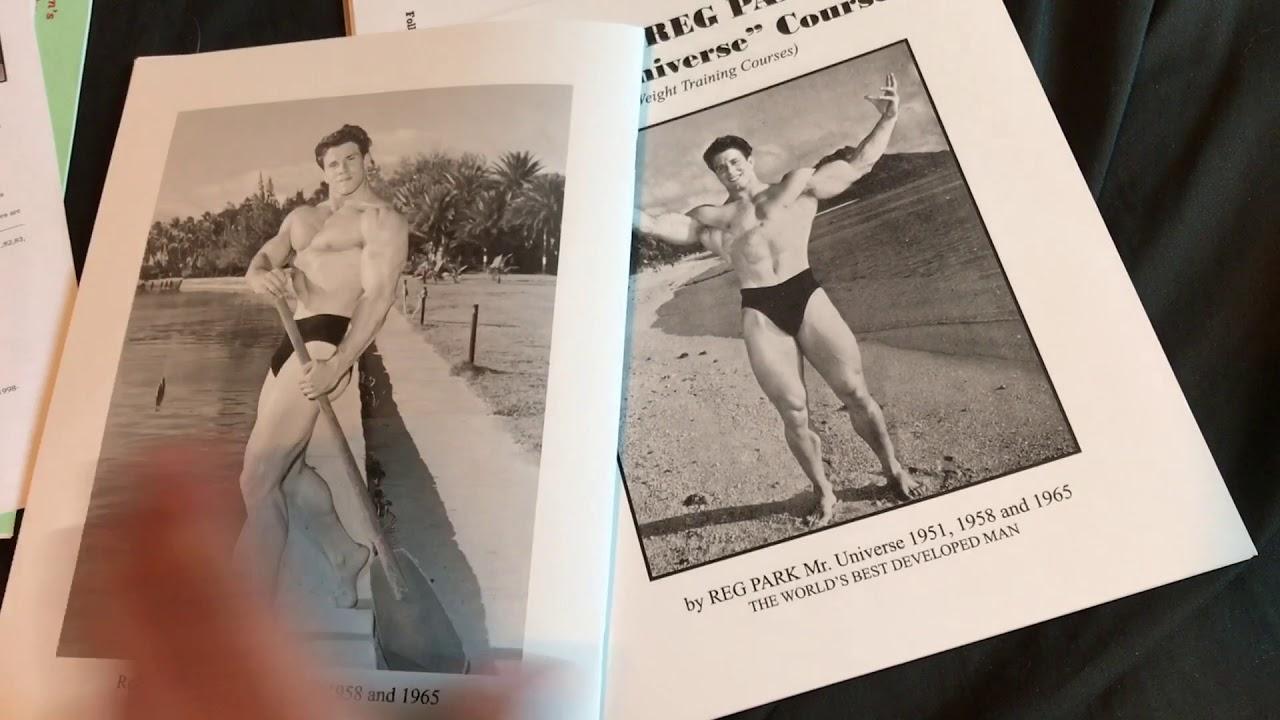Reg Park's Mr  Universe Workout Book UNBOXING - Daniel