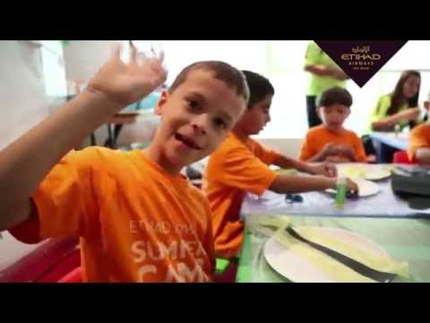 Etihad Airways - Kids Summer Day Camp