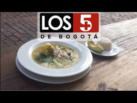 Las cinco comidas más tradicionales de Bogotá