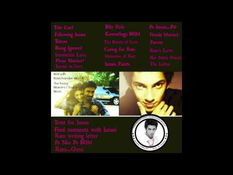3 Moonu HQ Background Music Jukebox | Soundtrack BGM | Anirudh Ravichander