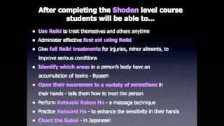 Jikiden Reiki Courses