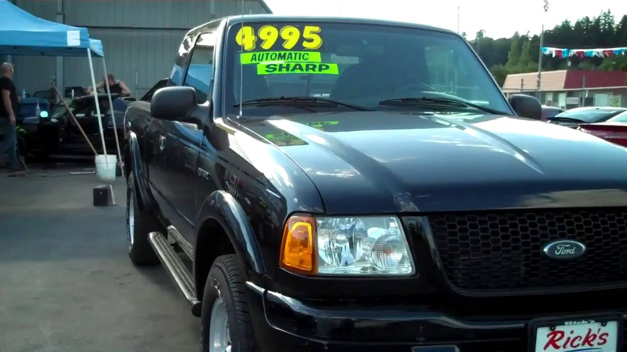 2003 ford ranger edge sold
