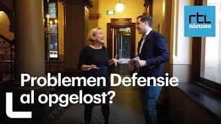 Kamervragen: Er moet echt meer geld naar Defensie, zegt minister Bijleveld - RTL Z KAMERVRAGEN
