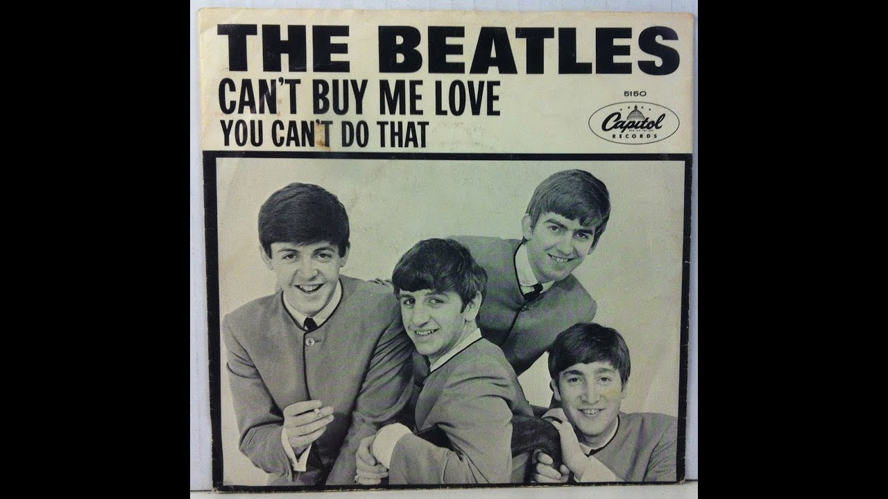 Can't Buy Me Love (BEATLES) Piano Cover Lesson with Chords/Lyrics .