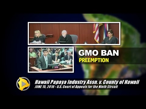 Big Island GMO Ban Argued In Federal Court (June 15, 2016)