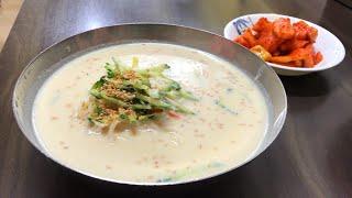 КАЛЬКУКСУ | корейская лапша с бульоном из соевых бобов