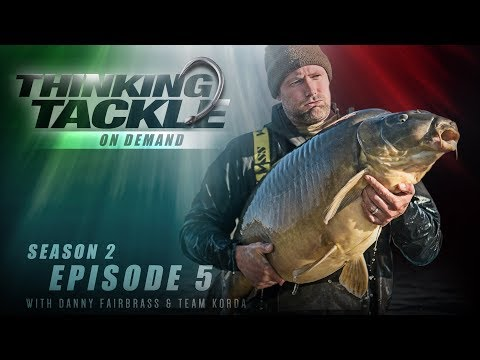 NEW Thinking Tackle OD Season 2 Ep5: Danny Fairbrass & Team Korda | Korda Carp Fishing 201