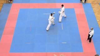 Mens 75kg + Kumite - Sonny Roberts Round 2 Part 1