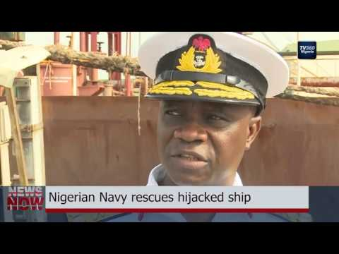 Nigerian Navy Rescues Hijacked Ship