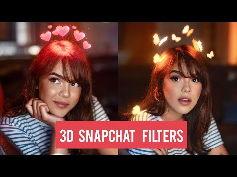 How To Make 3D Snapchat Filters