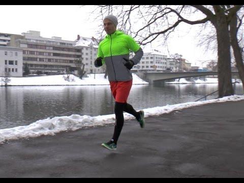 Laufen bei Kälte - auf was sollte ich achten?