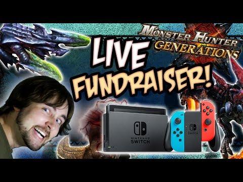 LIVE Monster Hunter Generations Fundraiser for Nintendo Switch!