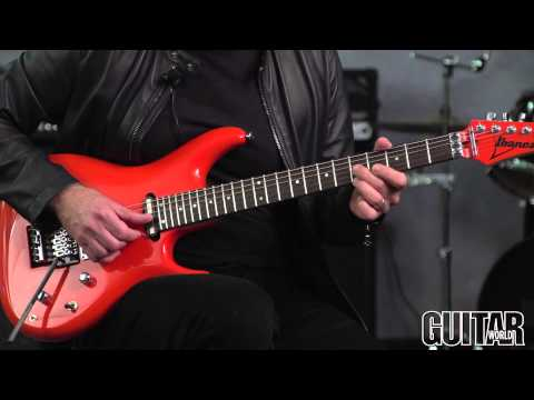 Joe Satriani - How to Play a String-Skipping Chicken Pickin' Lick