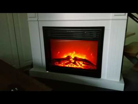SOHO 2000W electric fireplace insert