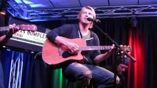 """Nick Carter singing """"Burnin Up"""" LIVE in studio Philadelphia, PA 2/4/12"""