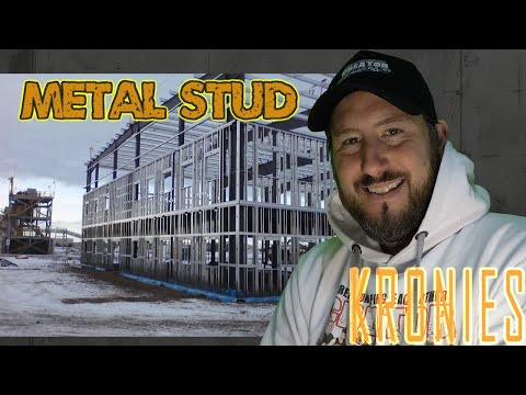 How To Frame A Heavy Gauge Steel Stud Wall
