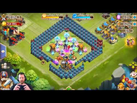 JT's Free 2 Play Rolling For BazaaR Opening Chests Castle Clash