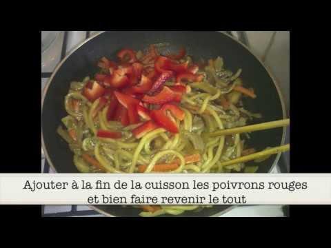 recette:-yaki-udon---nouille-udon-sauté-à-la-viande
