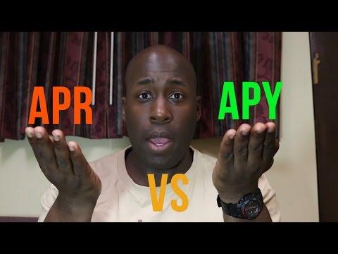 My Money Makes Money: APR VS APY