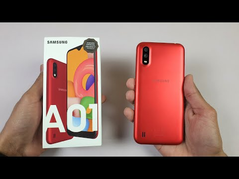 Samsung Galaxy A01 - (BUDGET BEAST!) Unboxing & Quick Review