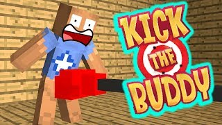 Monster School KICK THE BUDDY Minecraft Animation