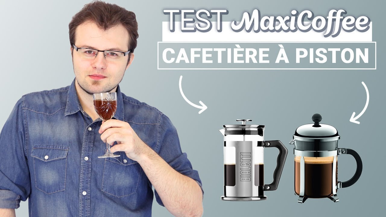 comparatif cafetiere a piston cafetiere slow coffee le test maxicoffee