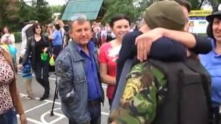 Возвращение славутчан из зоны военных действий