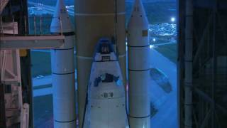 Rollout of Discovery for STS-133, Its Final Mission