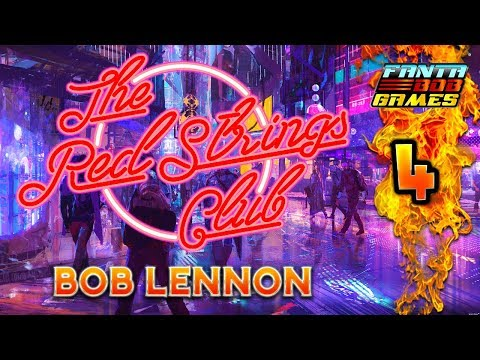UN VERRE POUR LA CASTAFIORE !!-The Red Strings Club- Ep.4 avec Bob Lennon