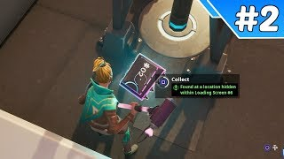 Secret Season 9 Week 6 Fortbyte Location (Fortbyte #2) - Fortnite