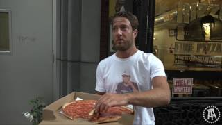 Barstool Pizza Review - Rizzos Fine Pizza with Surpise Canoli Review