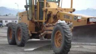 Just Heavy Equipment #7 - John Deere 570B Road Grader