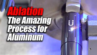 Amazing results lasering aluminum - Ablation - CT LASER & ENGRAVING