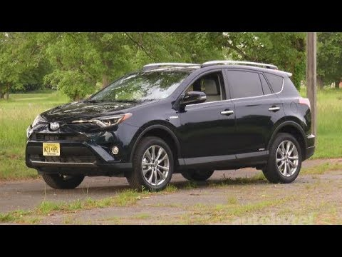2017 Toyota Rav4 Hybrid Test Drive Video Review