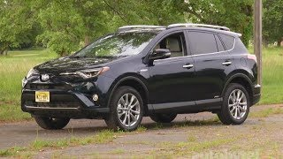 2017 Toyota Rav4 Hybrid Test Drive Video Review