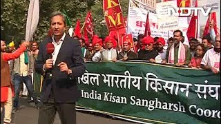 Farmers From Across the Country Hold Protest Rally in Delhi