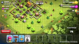 Mobizen recording clash of clans