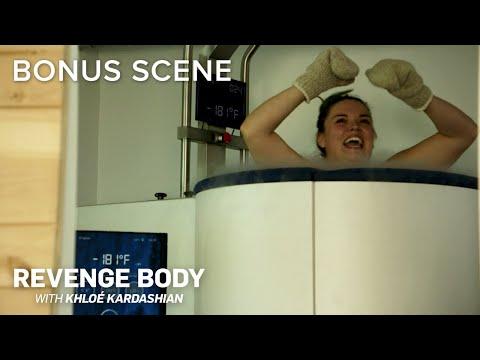 "Cryotherapy First Timer ""I've Got Boob-cicles""   Revenge Body with Khloé Kardashian Bonus Scene   E!"