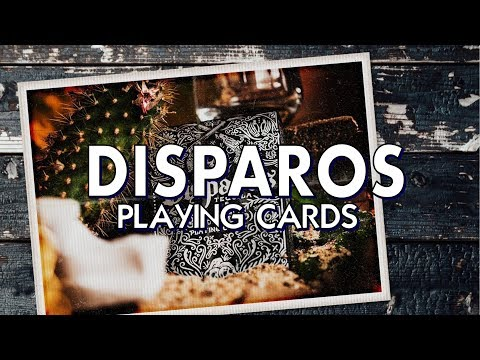 Deck Review - Disparos Playing Cards By Ellusionist