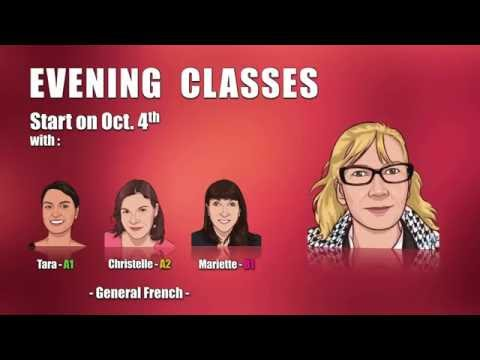 Learn French - Evening Classes - Fall 2016