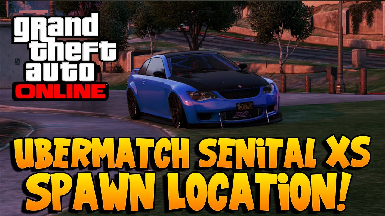 GTA 5 Rare Cars - Ubermacht Sentinel XS Spawn Location ... Ubermacht Sentinel Xs Gta 5 Location