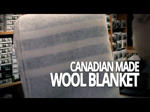 Canadian Made 100% Virgin Wool Blanket Review