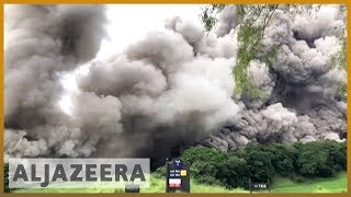 🇬🇹 🌋 Dozens dead as 'Volcan de Fuego' erupts in Guatemala | Al Jazeera English thumbnail