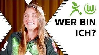 """""""Bin ich Alexandra Popp?""""   Wer bin ich? mit Noelle Maritz und Lara Dickenmann"""