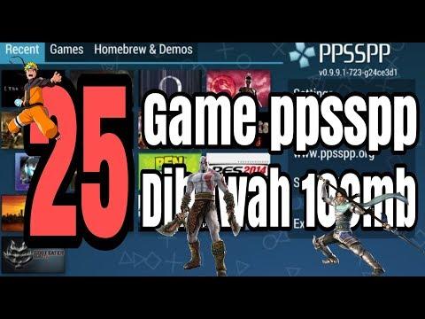 25 Game Ppsspp Di Bawah 100mb