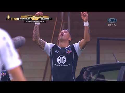 GOL: Corinthians 1-1 Colo Colo