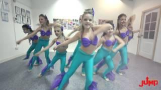 Детские танцы Русалочки