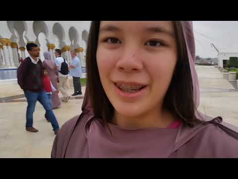 Dubai Travel Vlog Part 3: Abu Dhabi's Grand Mosque!