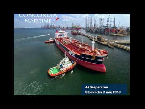 Aktiedagen Stockholm 2 maj – Concordia Maritime