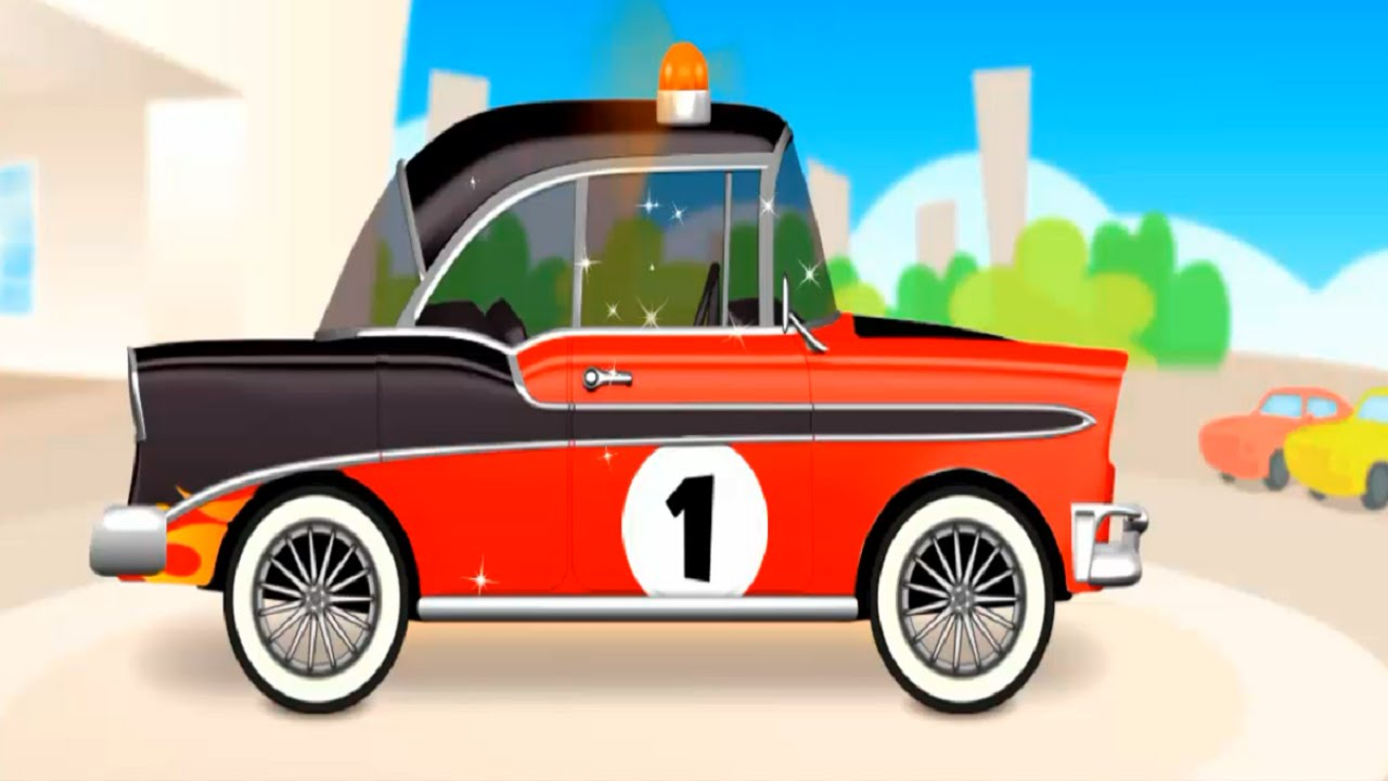 Mechanic max cool car cartoon about car game for kids